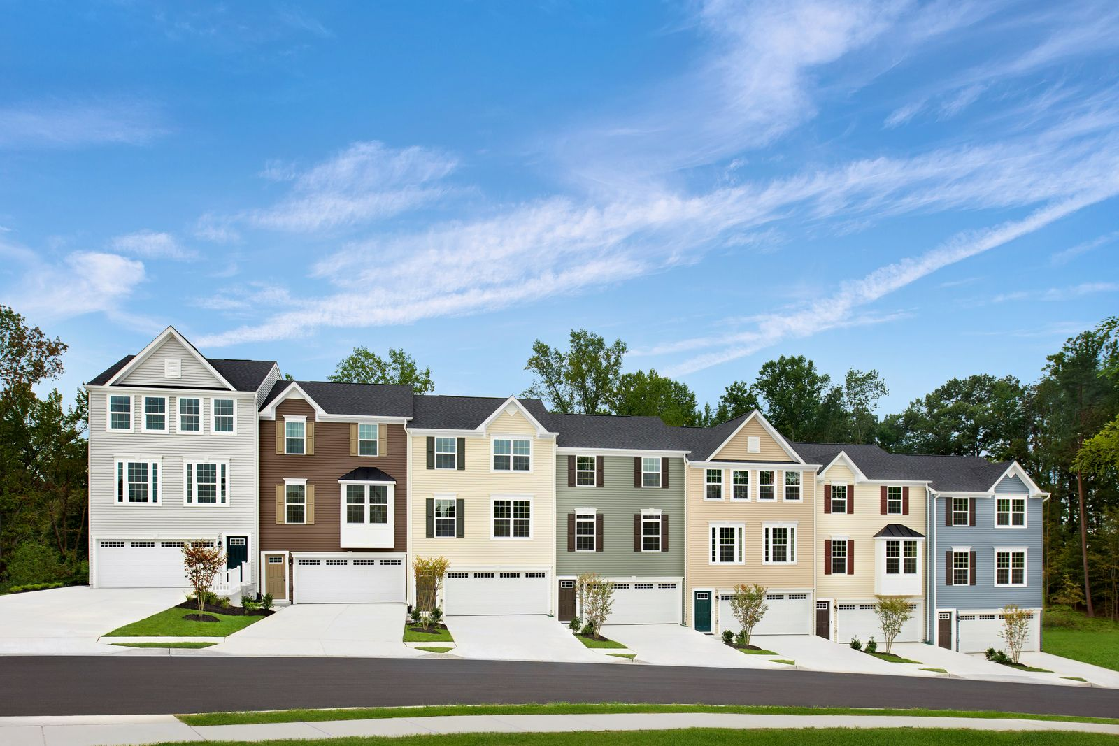 AFFORDABLE GARAGE TOWNHOMES SELLING FAST IN STAFFORD!:Welcome to Bells Hill Terrace: Brand new, affordable townhomes with 2-car garages and backyards, just 1.5 miles from I-95 from the high $300s!Stop renting and schedule your appointment!