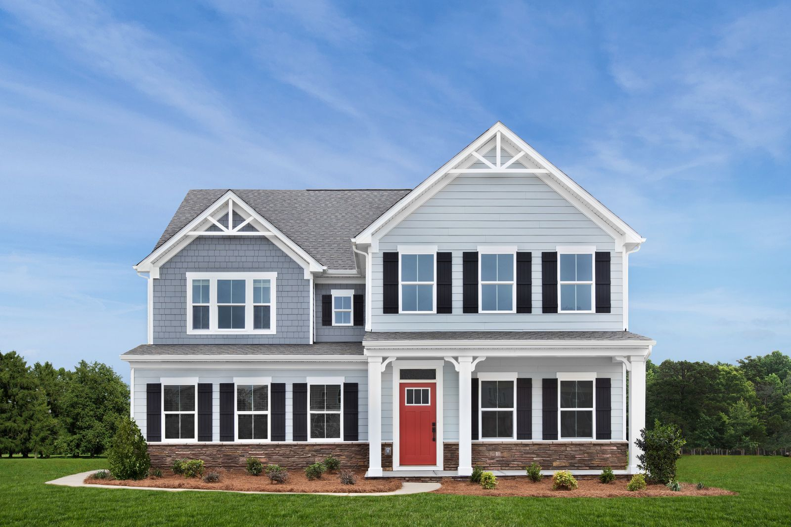 Forest Ridge in West Murfreesboro - From the Mid $400s:A peaceful, wooded community with large homesites, spacious floorplans, included side entry garages, & 3-car garage options.Schedule your virtual or in-person visit today!