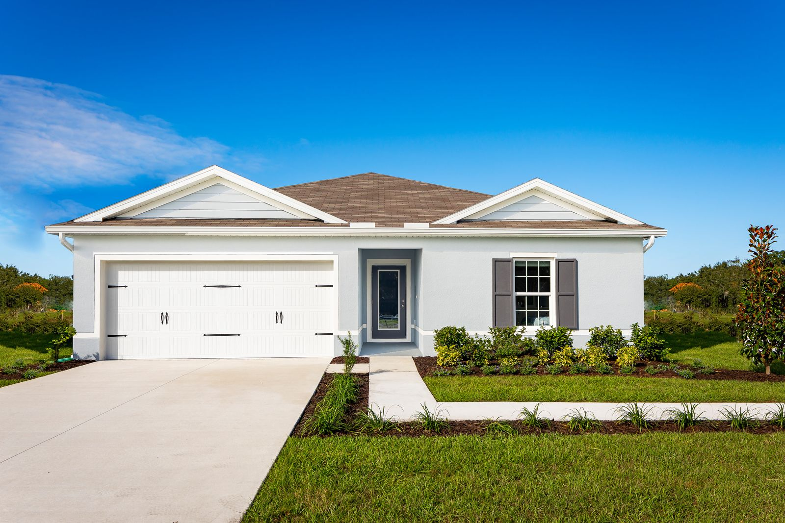 Welcome to Eagle Landing in Winter Haven, FL:Where affordability meets lakeside living. Close to both Tampa and Orlando while conveniently close to US 27. NO CDD & Low HOA. From the low $200s. Schedule a visit today! Se habla Español.