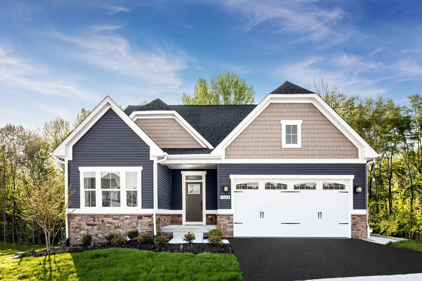 Welcome home to Highland Woods - New Ranch Homes in Elgin:Lawn care & snow removal included and fences allowed! Located in an amenity filled community. Basement options and 2nd level bonus areas available.Click here to schedule your visit!