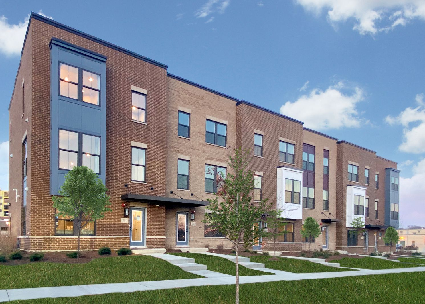 Luxury Rowhomes walkable to Downtown Mt. Prospect:Welcome to Maple Street Rowhomes! Own a brand new townhome with included luxury finishes. Walk to the Metra, Lions Park, schools, and charming Downtown Mt. Prospect.Schedule your visittoday!
