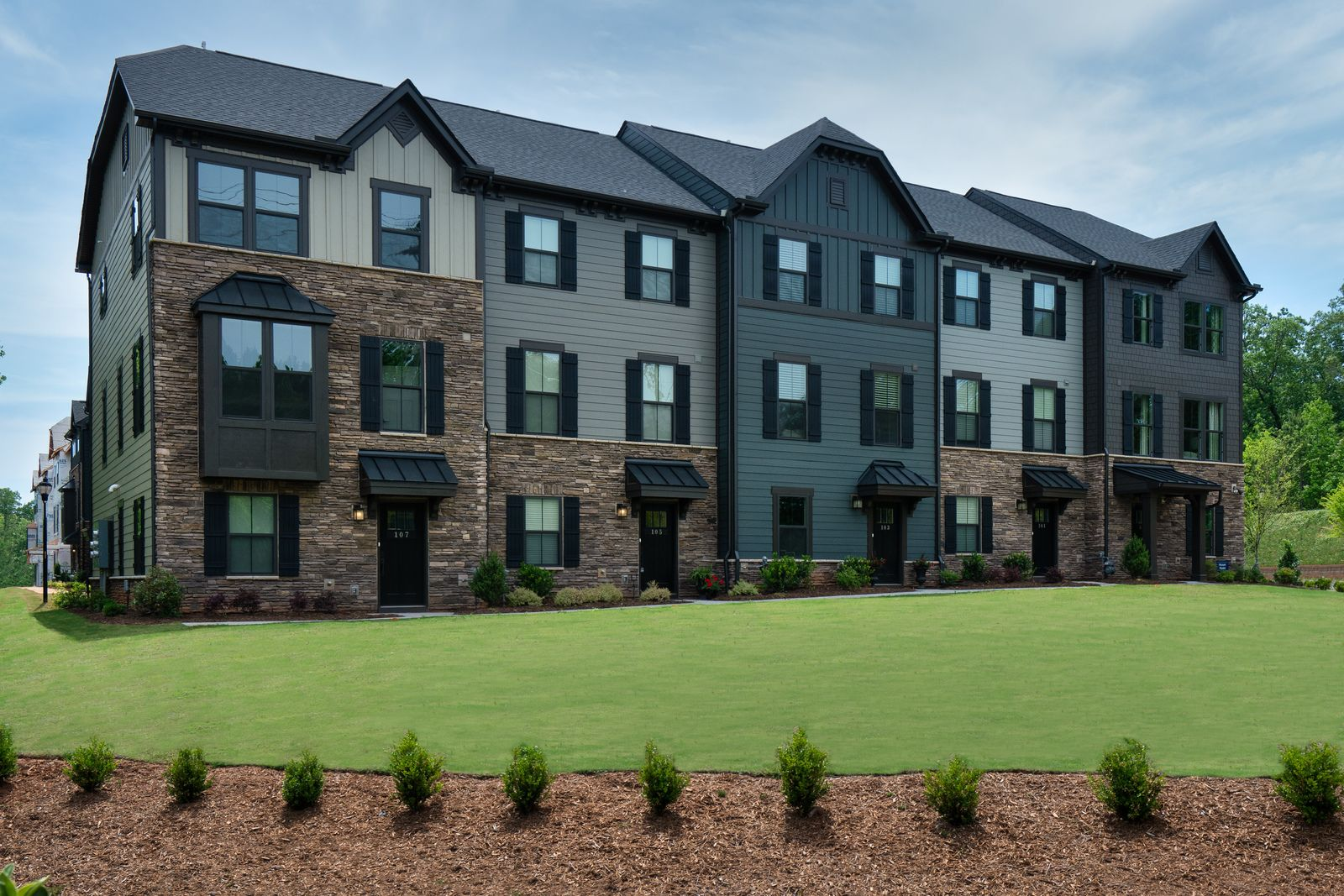 Own a new townhome in the Verdae Corridor with front door access to the Swamp Rabbit Trail.:A quick walk to all of your favorite spots is a way of life here! Schedule an appointment now to learn more!