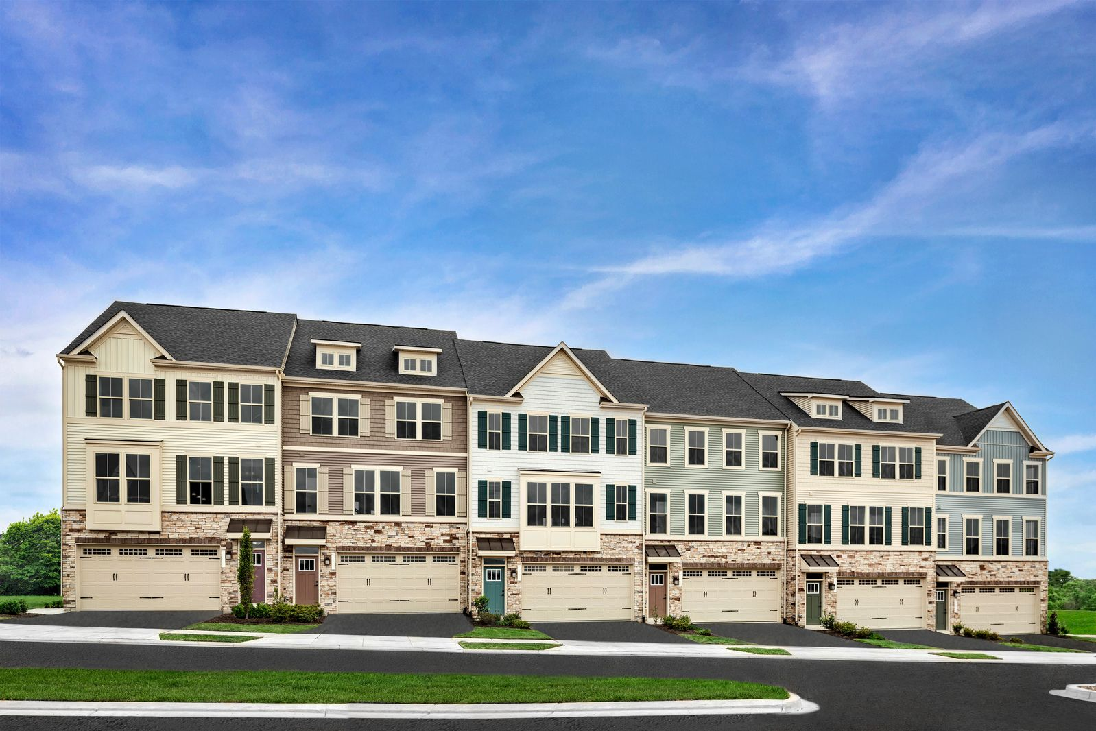 WELCOME TO HARRINGTON TERRACE TOWNHOMES IN FREDERICK, MD!:Enjoy beautiful mountain views and live in a convenient location with no city taxes! Largest and widest townhome in Frederick with 2 car garage and backyard!Schedule an appointment today!