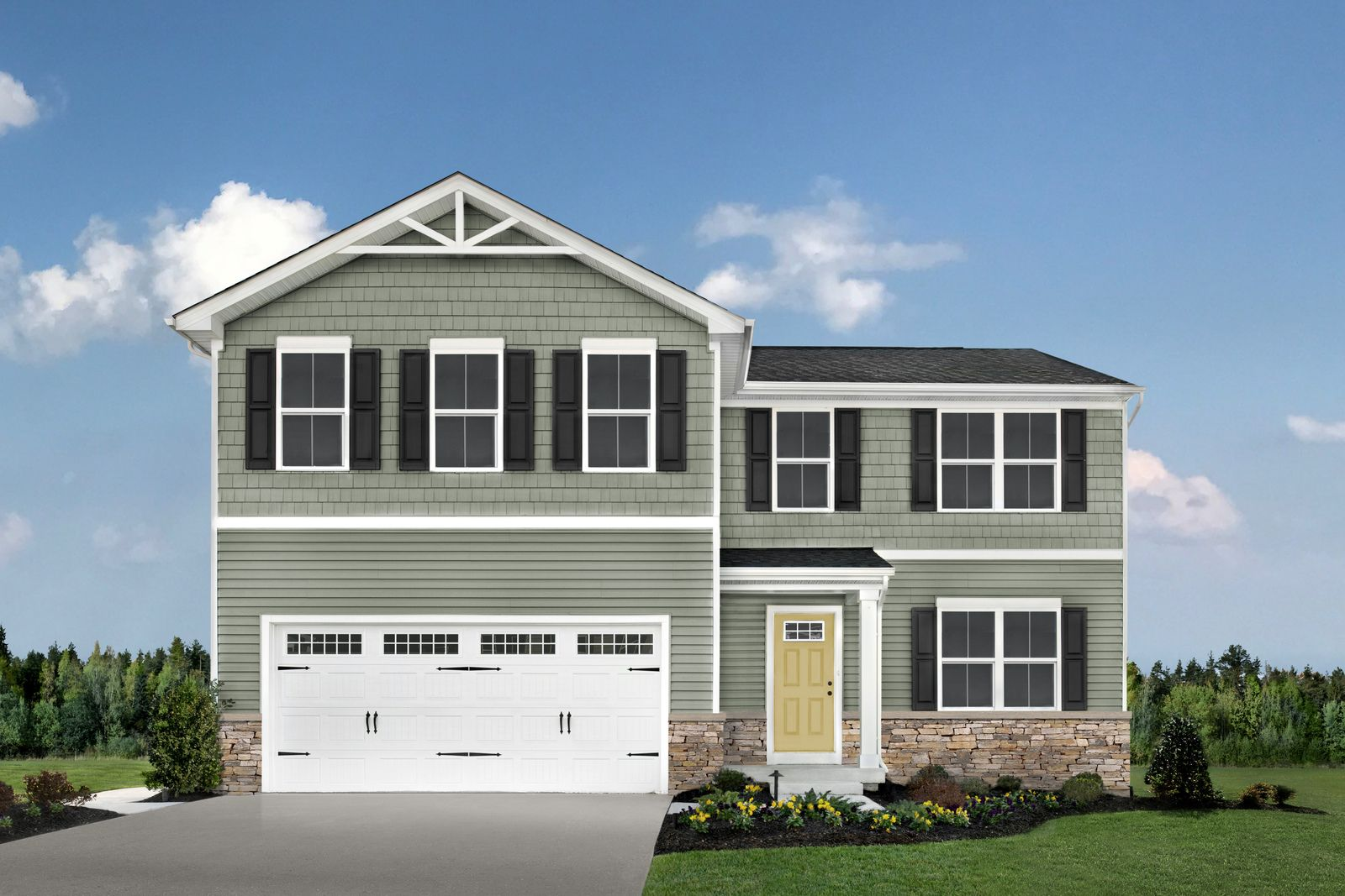 RYAN HOMES AT EVERGREEN – COMING SUMMER 2021 FROM THE LOW $300S:Premier Cane Ridge location only 1.5 miles to I-24 for easy access to downtown Nashville.Join the VIP list for access to community updates & to be the first to purchase your new home!
