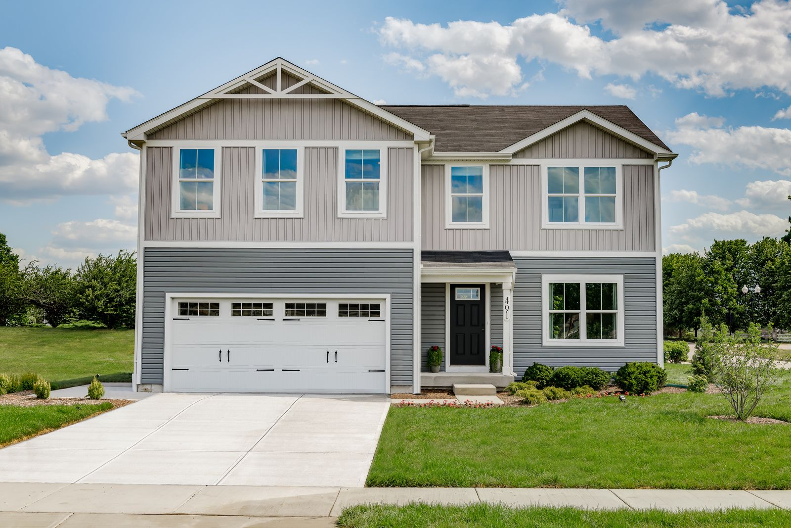 Welcome Home to Prairie Ridge - The Best Value 2-Story Homes In Hampshire:Choose from homes that offer 3-5 bedrooms, 2-car garage, large backyard, basement, with everything included! Conveniently located near I-90 and Rt. 20.Schedule a visit today!