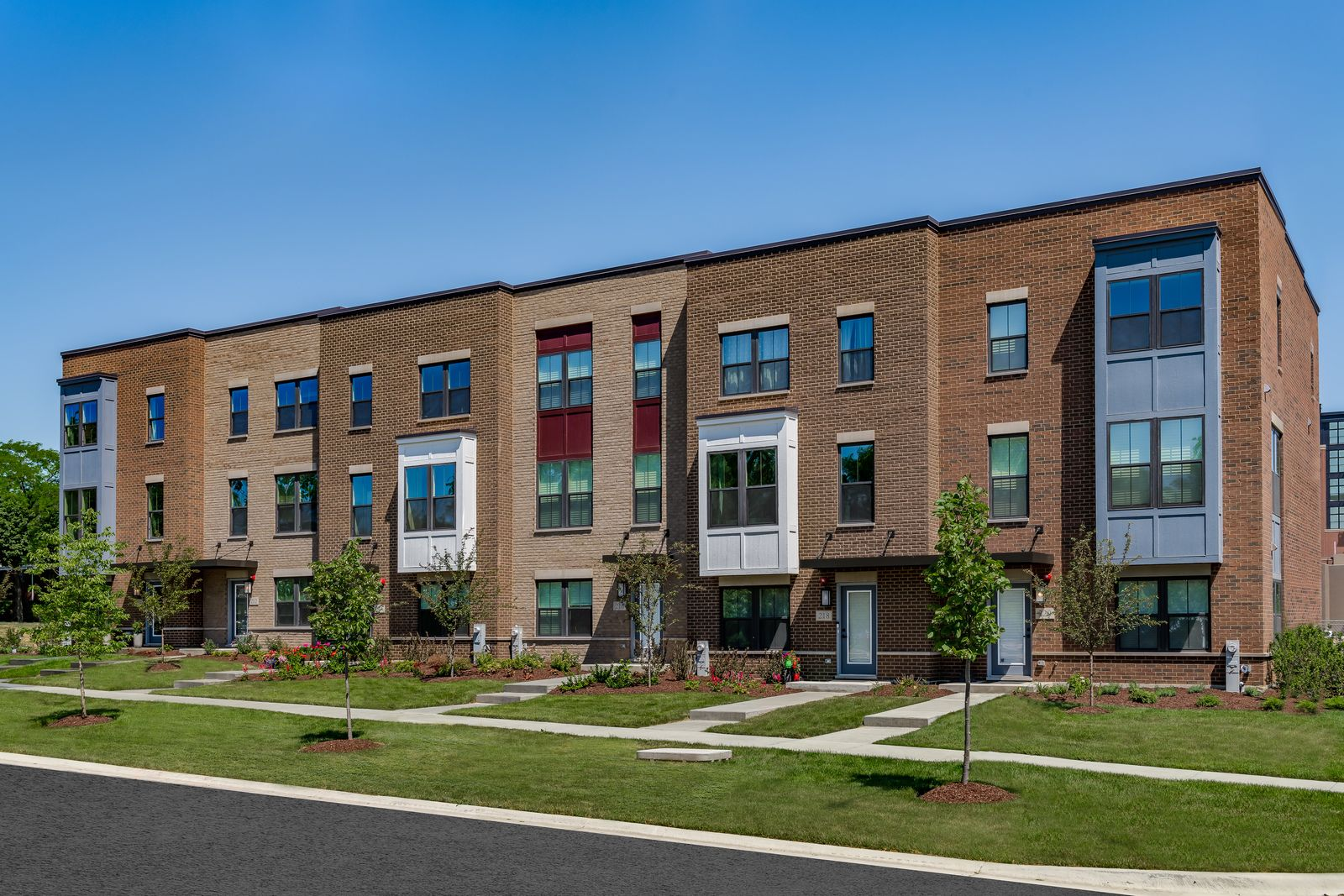 Welcome to Maple Street Rowhomes - New Building Just Released!:Own a brand new townhome with included luxury finishes and private 2-car garage. Walk to the Metra, Lions Park, schools, & charming Downtown Mt. Prospect.Schedule your visit today!
