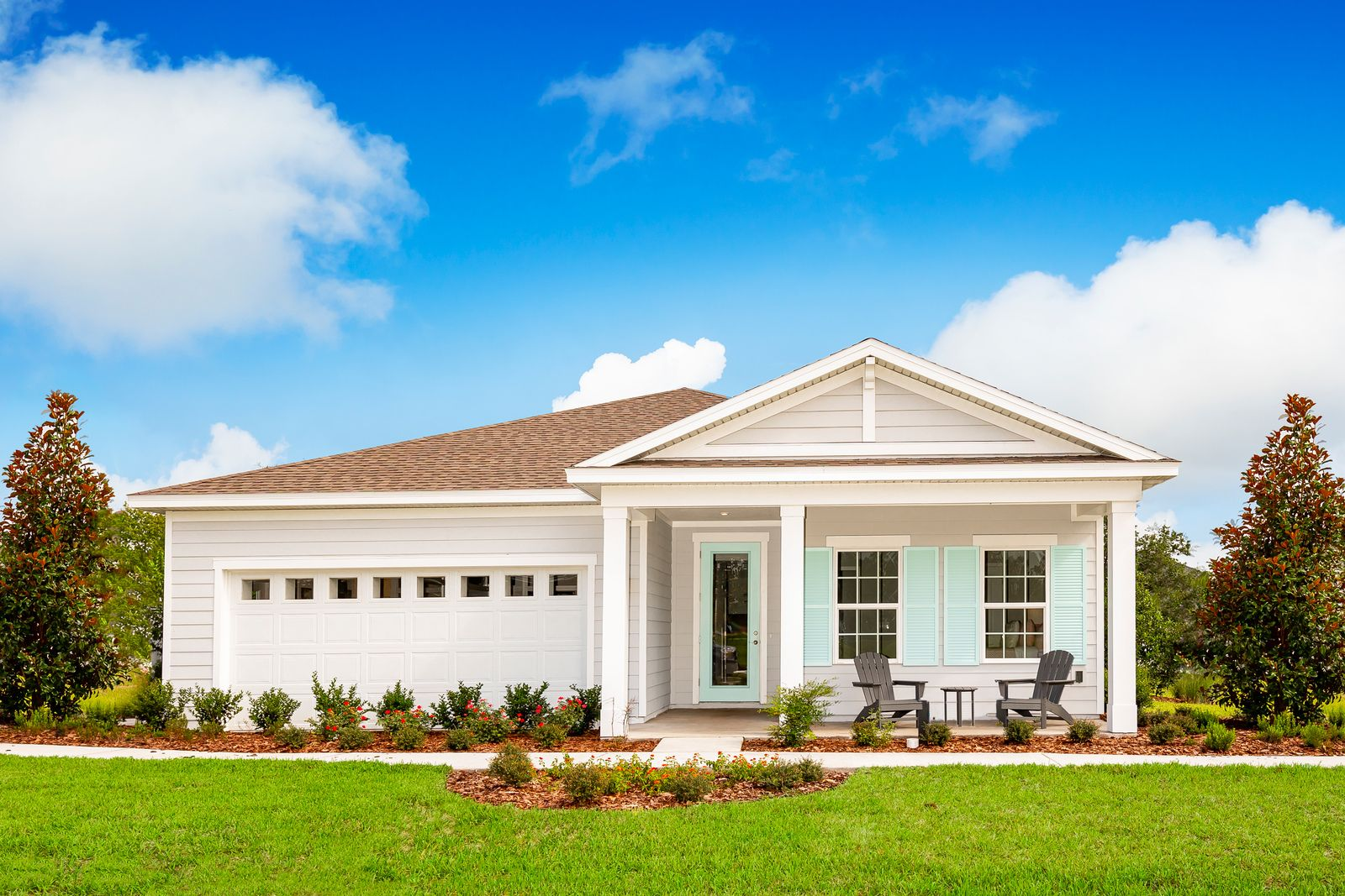 """New Phase of Homesites Available - Welcome Home to Panther Creek:Own more for less, with included features like 9' ceilings, granite kitchen counter tops and 42"""" cabinets - an incredible value!Schedule an appointment today to learn more."""