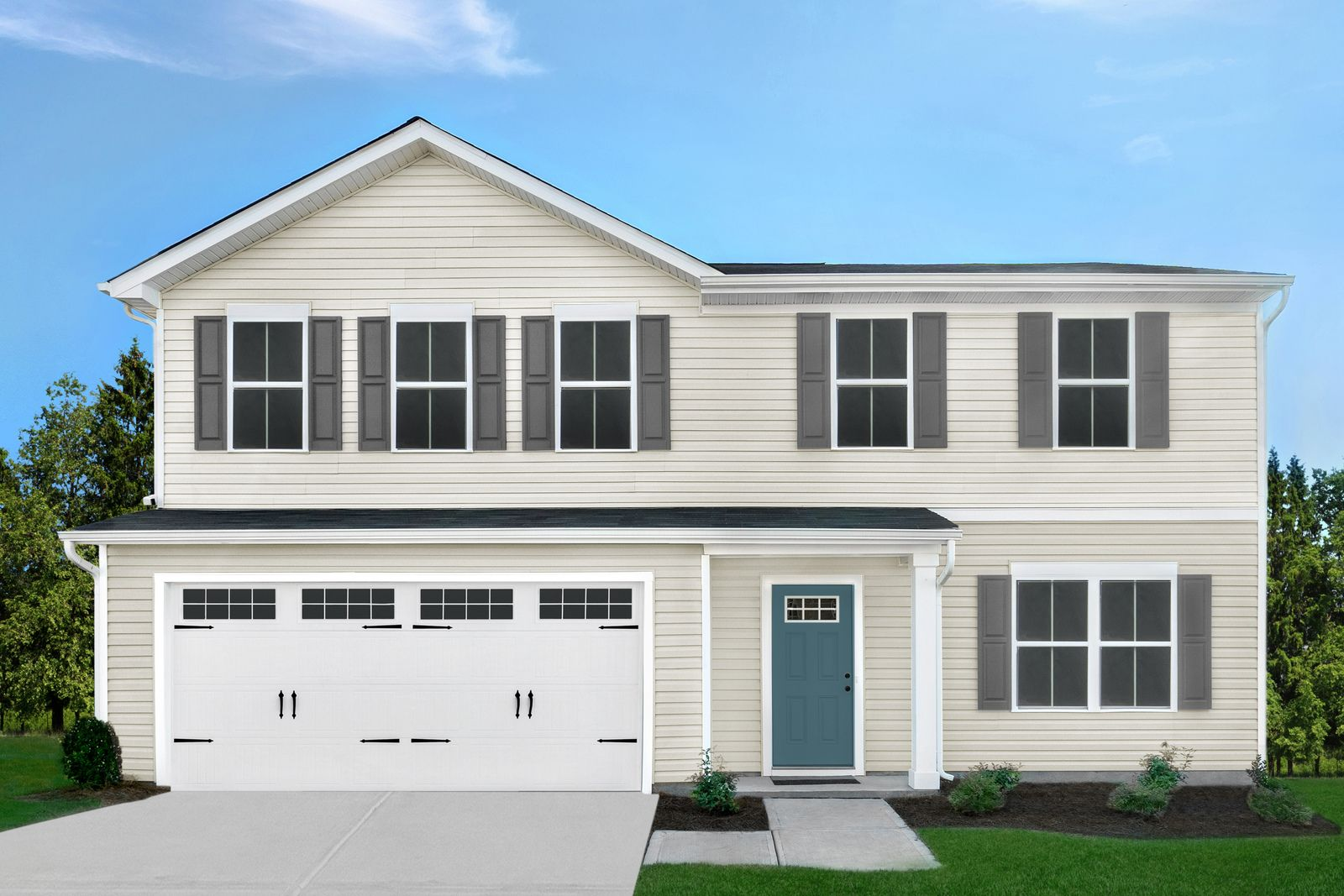 WELCOME HOME TO HIDDEN LAKES 2-STORY:Best-priced new homes in Springfield area—Lakemore. From the lower $200s! Community pavilion, playground, & dog park. Appliances included!Schedule your visit today!