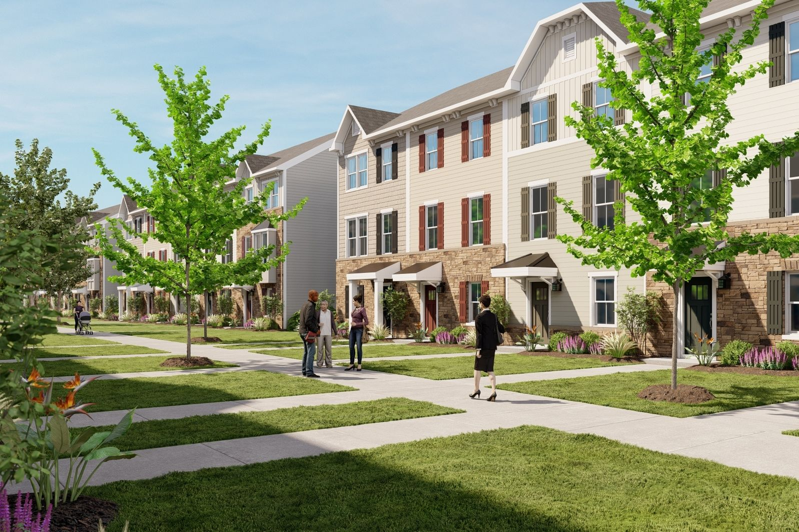 New Townhomes ½ a Mile to Concord Mills and I-485. From Mid $300s:Live in a picturesque community convenient to everything you need, offering a future dog park and unique courtyard-style walkways.Join the VIP List.