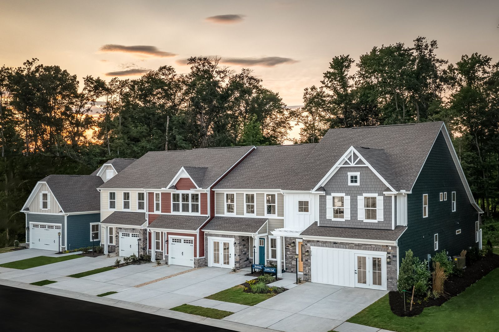 Grand Opening! Welcome to Cardinal Meadows!:New, 2-story craftsman style townhomes w/ 1st floor owner's suites available as well as 1-2 car garages & backyards! Unmatched in access to shopping, interstates & Grassfield schools. From the $300s.