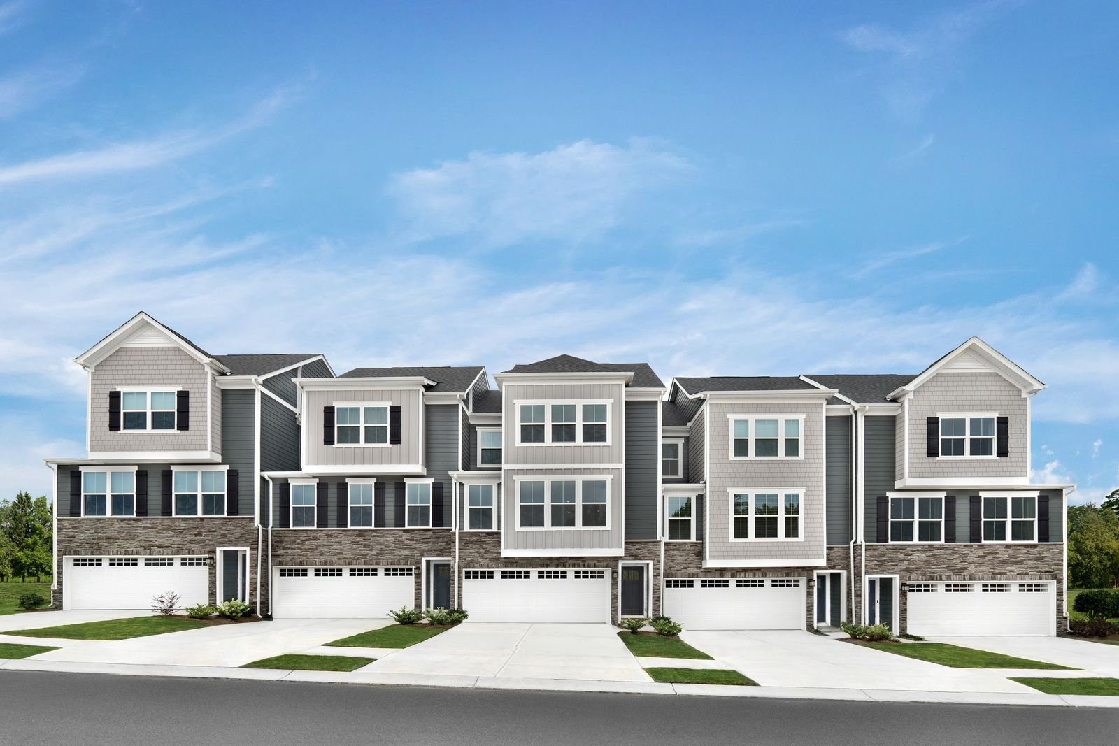 NEW TOWNHOMES WITH COX MILL SCHOOLS FROM THE LOW $400s:Own a townhome with no maintenance & in a location convenient to I-485.Join the VIP List to be among the first to own at Oaklawn Mills.