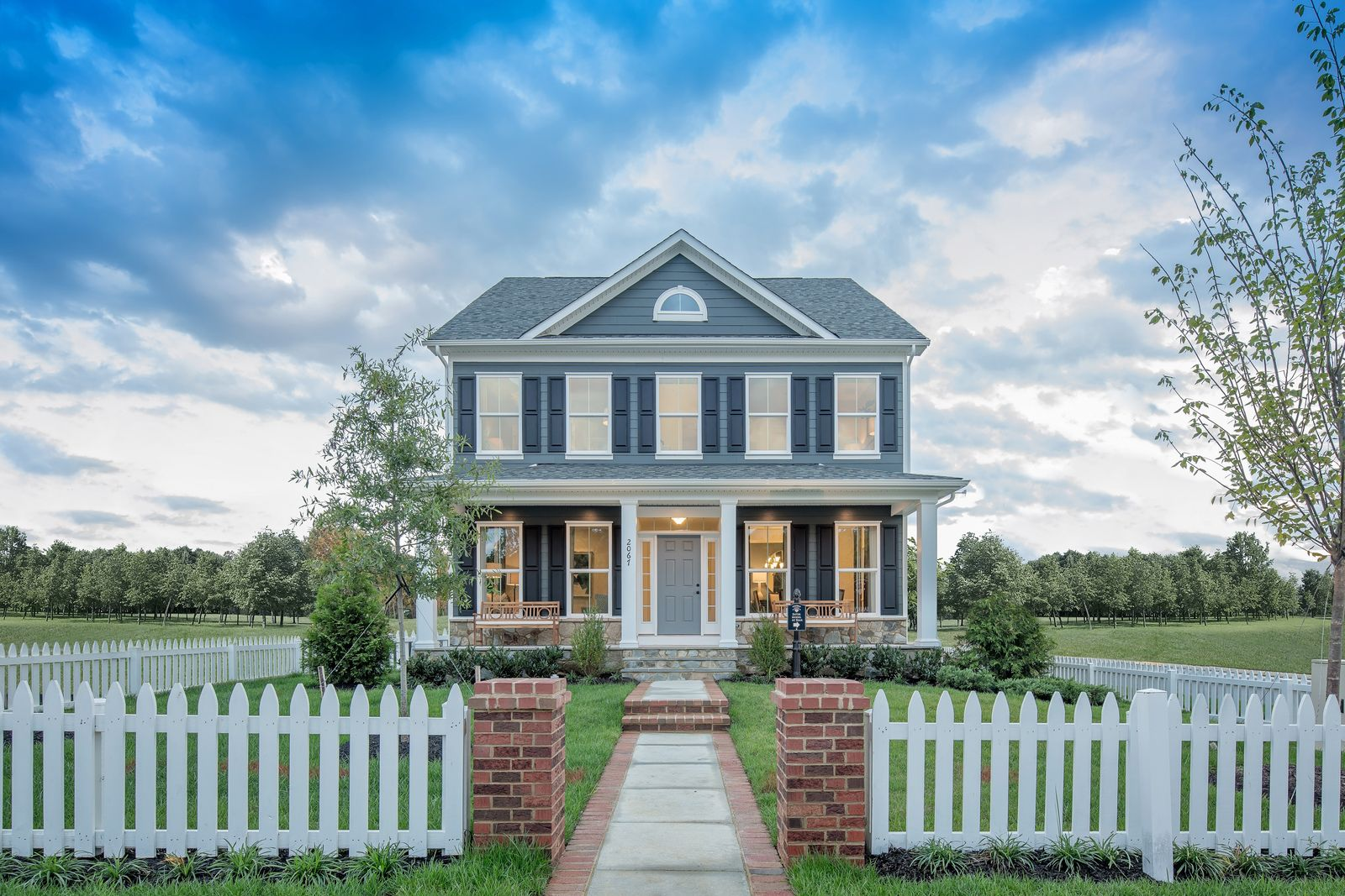 Best value & best backyards in the Ponds with our Charleston & Traditional style homes