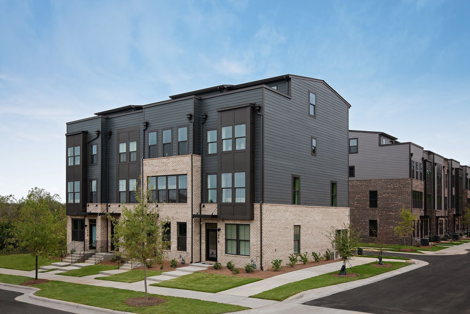 Urban Townhomes in South End