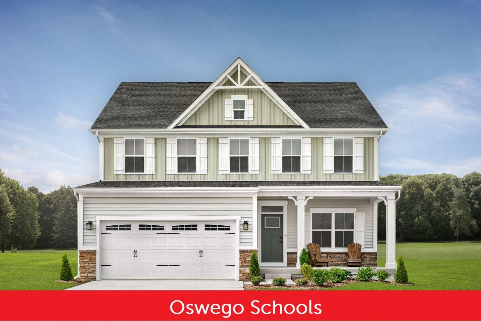 New Homes in Oswego Schools