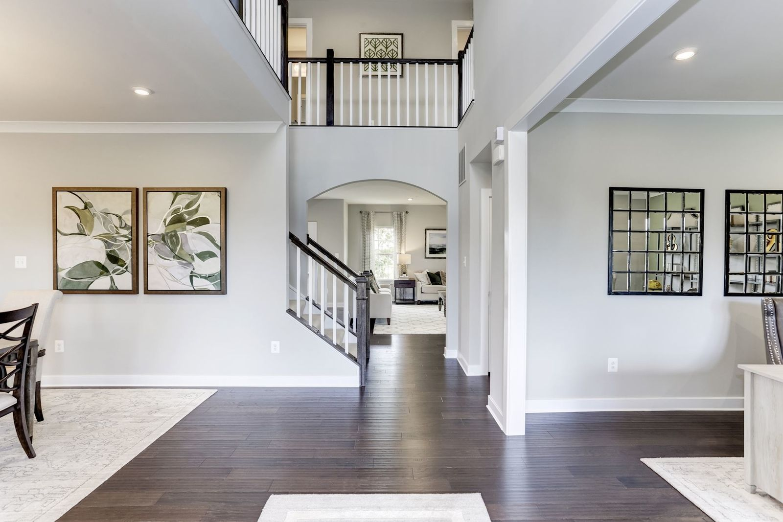 Looking for the perfect home that has it all?:Wouldn't you love this view of your 2-story foyer as soon as you walk in the door? The Corsica's free-flowing floorplan boasts 3,330 sq. ft. with 5 bedrooms, 3 baths and a loft!