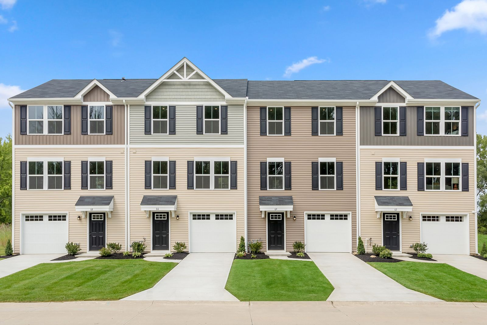 Welcome home to Hamilton Greene:Enjoy pride and privacy of homeownership in a new townhome with a back yard. Just 3 miles from 42, 322, and the AC Expressway. Click here to start your journey towards home ownership. Photo (1)
