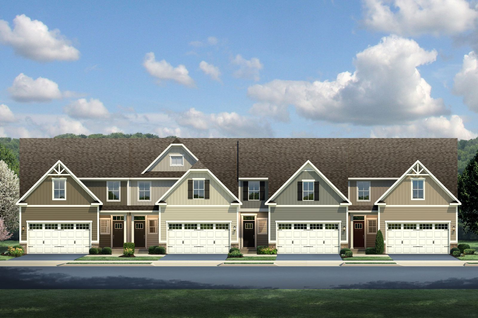 Welcome home to Grove Pointe:The most convenient new community to Pittsburgh, near the T-Station & Cool Springs. Townhomes with 1st-floor living.Click here to schedule an appointment.