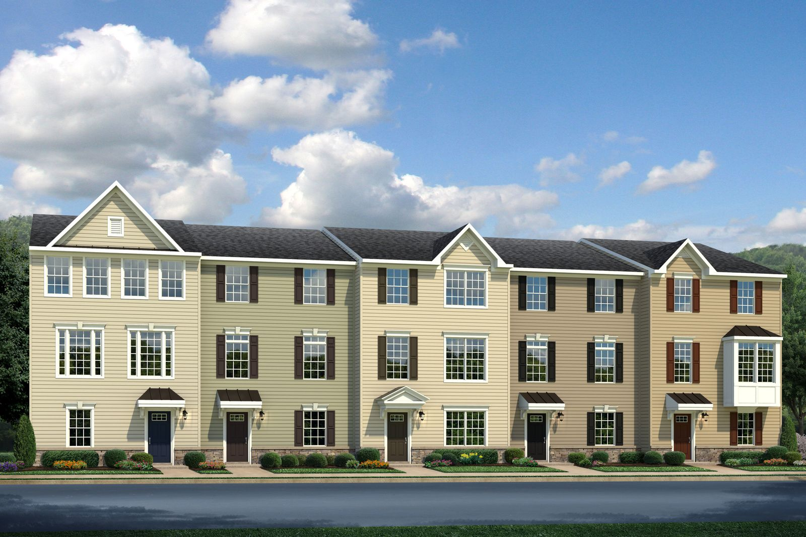 VALLEY RUN - GARAGE TOWNHOMES COMING SOON TO FREDERICKSBURG FROM THE MID $300S!:Stop renting and own a brand new, low maintenance garage townhome 3 miles from downtown Fredericksburg & 1 mile to 95! Join the VIP List for access to floorplans, VIP events andmore!