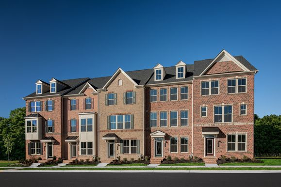 Step Up to Space & Style with NVHomes:Grand townhome living has arrived near the shops and dining of Urbana, just moments off I-270.Schedule a visit today!