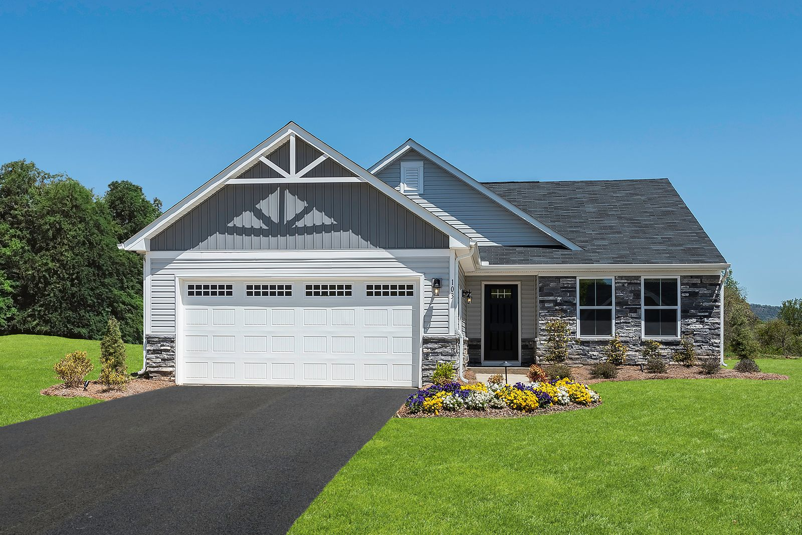 Easy One Level Living is Here!:The lowest price new ranch homes with included lawn maintenance in a great location! Only 10 minutes from Irwin, Murrysville and Greensburg! Schedule your visit today to learn more.