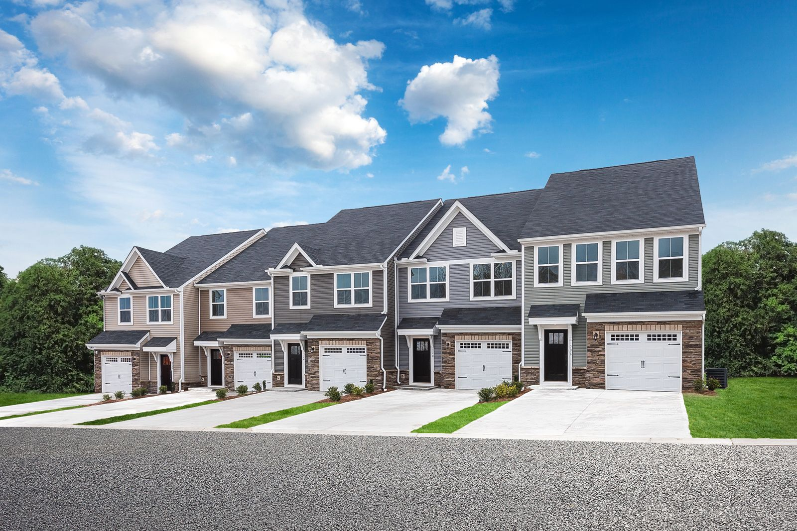 own near everything in west spartanburg:Say farewell to rent!Schedule a visit today to own a new townhome in WestStone.