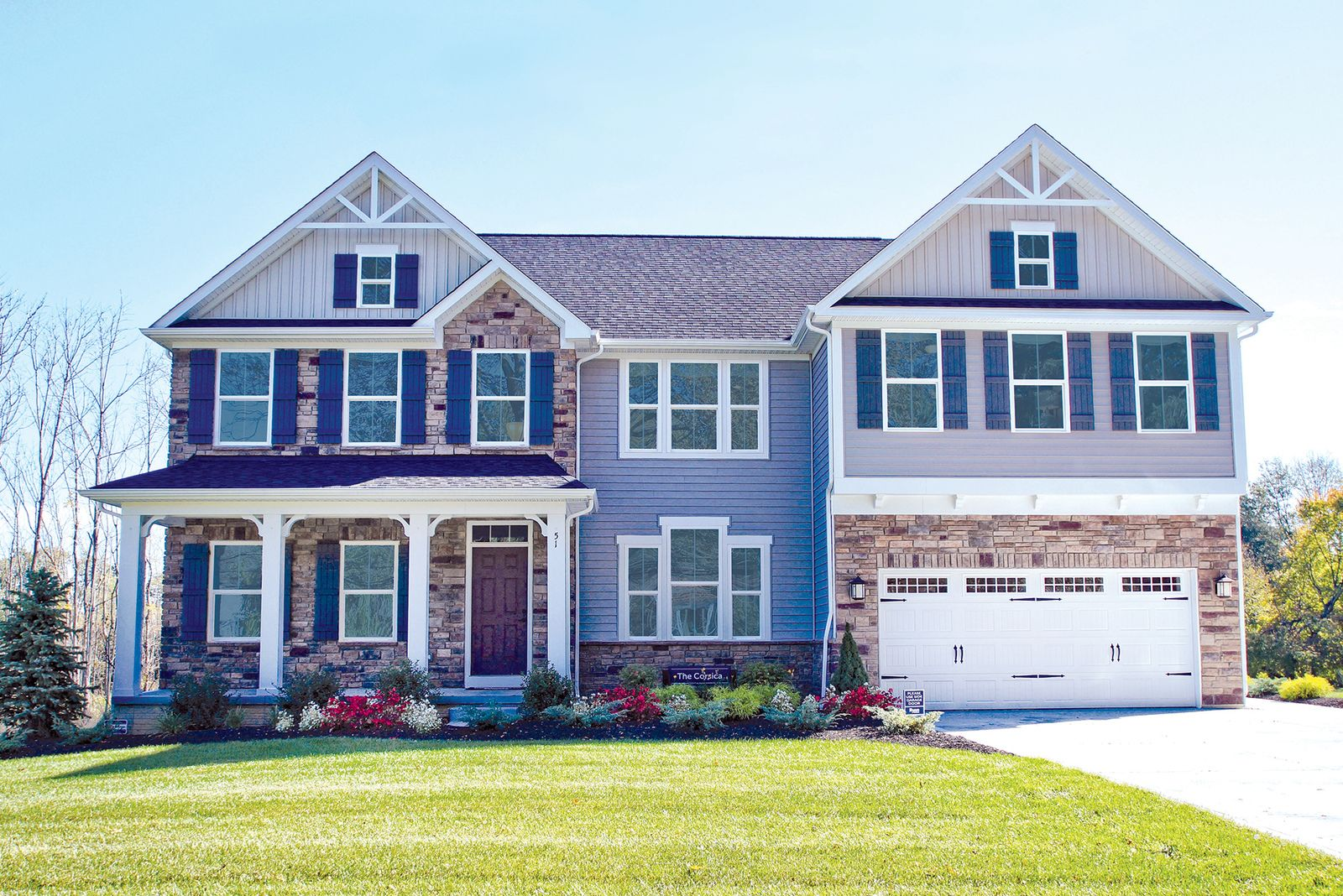 WELCOME HOME TO HAMPTON PLACE:North Ridgeville's best-selling community with large homesites. Click for mid $200s homes.Minutes from Avon, included Craftsman exteriors and community pool!Click here to schedule your visit today!