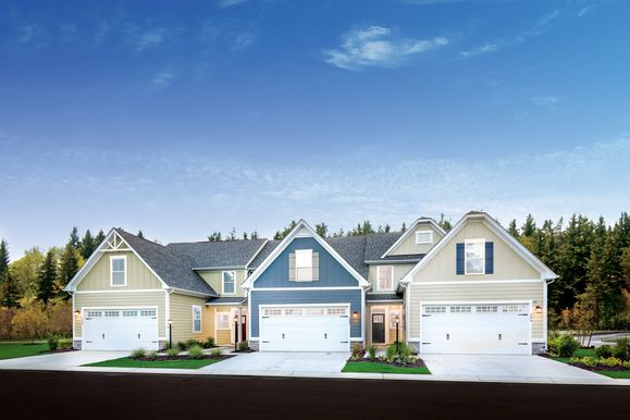 Introducing the Calvert - Main Level Living:With cottage detailing, 2 car level entry garage and a first floor owner's bedroom you can finally have the home you've been searching for!Click hereto schedule an appointment.
