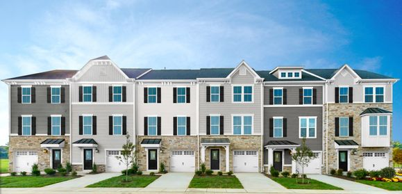 Own for less than rent.:Townes at Haddon Point features beautiful new townhomes in an convenient location.Click here to schedule your appointment. Artist Rendering of models intended to be available in the community (2)