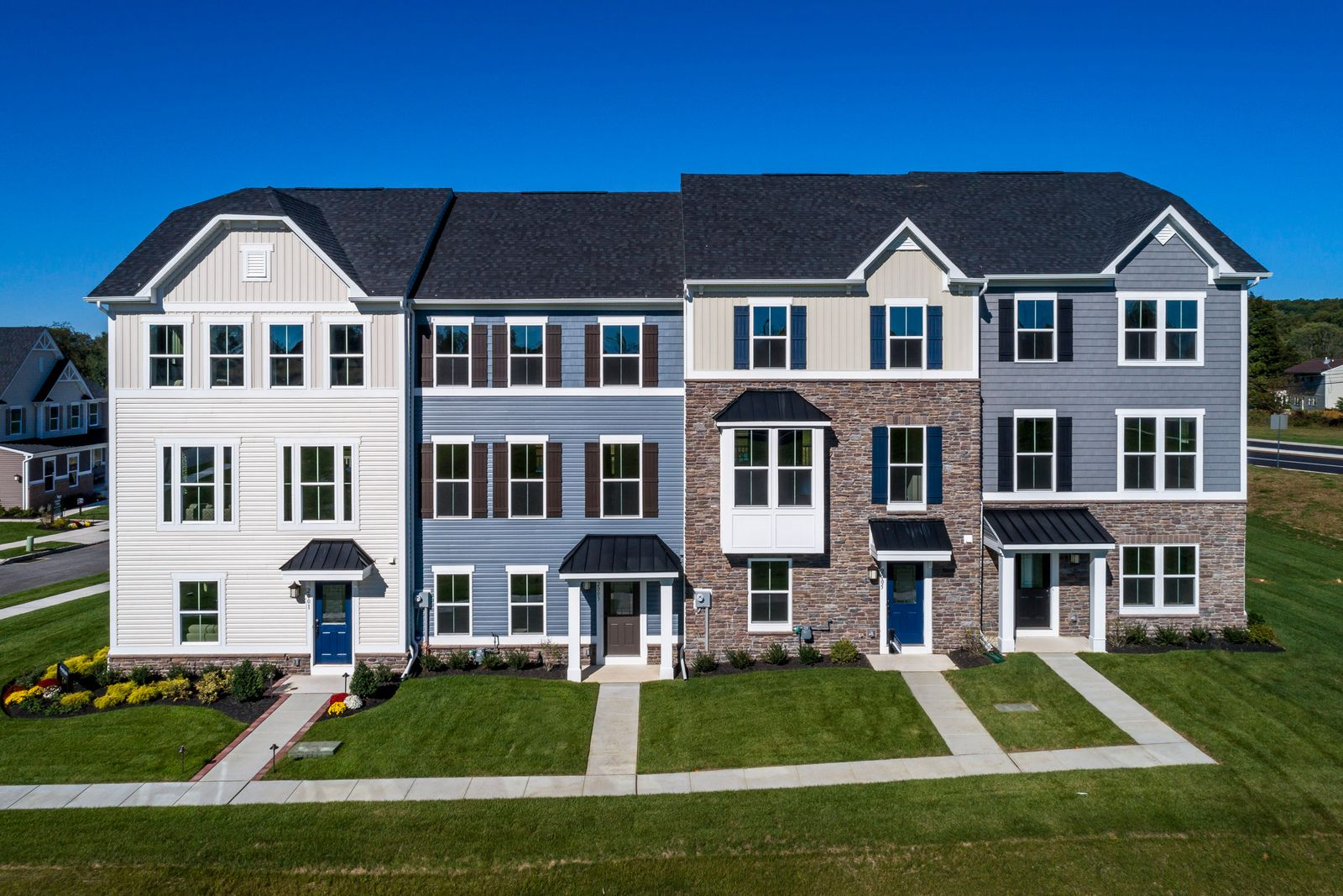Welcome to Mapleview:Lowest priced new townhomes with low HOA fees in Downingtown schools, walkable to township park, minutes from commuter routes.Click here to schedule your visit today!