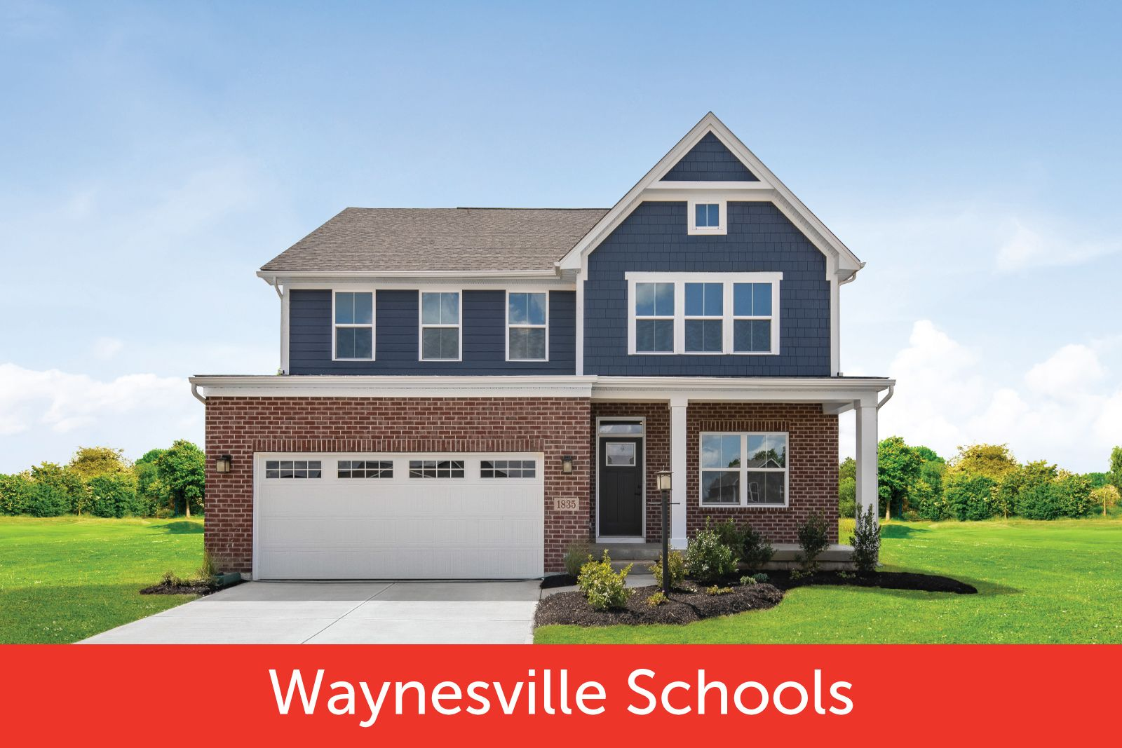 New 2-story and ranch homes in Waynesville Schools at The Legacy at Winding Creek:Community pool & clubhouse, 1/3-acre homesites with low taxes! Minutes to Austin Landing. From the $290s.Click here to schedule your visit today!