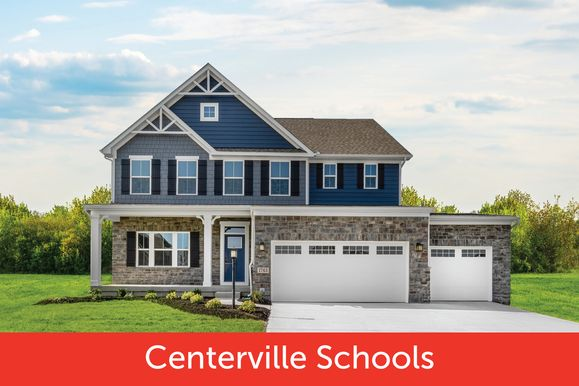 Welcome Home to Creekside at Winding Creek:Spacious wooded homesites up to 1/2 acre or larger, Centerville Schools, from low $300s w/ included luxury features.Click here to schedule your visit