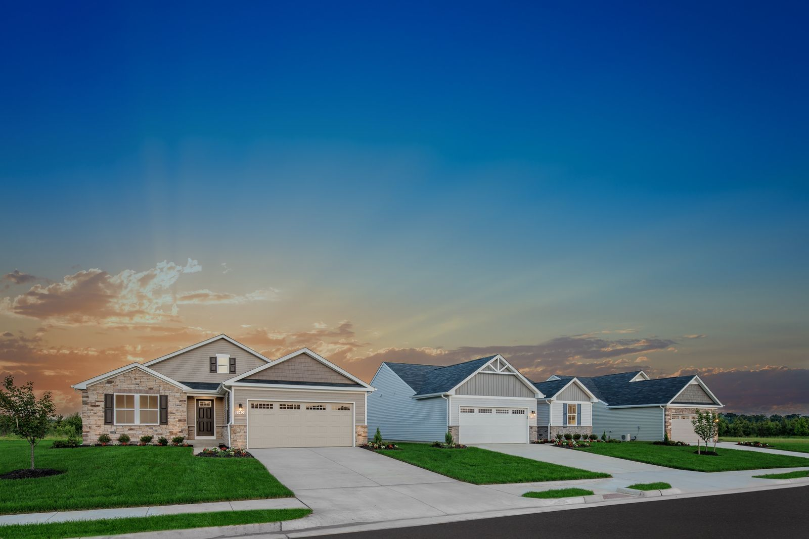 RANCH STYLE HOMES WITH 2-CAR GARAGES, COMMUNITY POOL, CLUBHOUSE, WALKING TRAILS & NO YARD WORK:With 15 homes sold in the last 45 days at Village Oaks, the only thing missing is YOU.Click here to schedule your visit and receive $2,500 toward closing through 10/31.