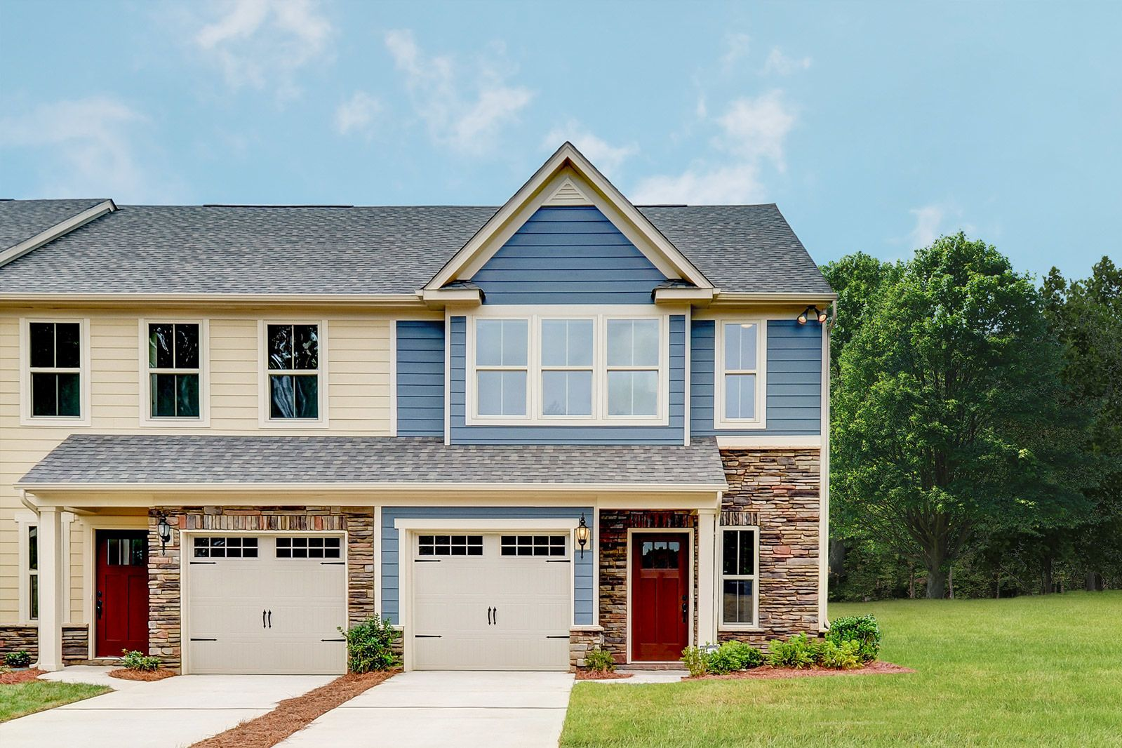 Welcome to Stone Gate at Sparta:These beautifulnew homesinclude an updated stone front so you'll love looking at the exterior of yourhome just as much as you love walking through the door to the beautiful interior.