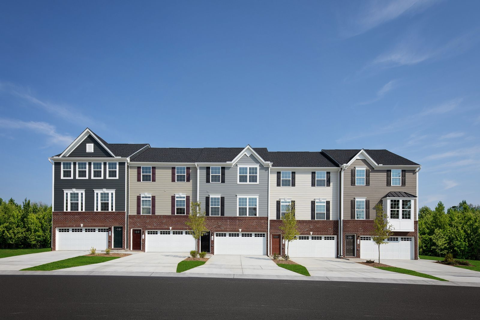 Excellent Value Near RTP - Brand New Townhomes at Creekside Commons:Looking for an affordable home in a convenient location?Schedule a visit at Creekside Commons!