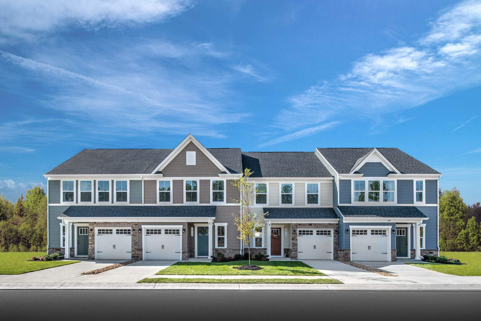80% SOLD OUT. DON'T WAIT!:Settle into this highly sought-after Williamsburg community. New, 2-story, 3-bedroom, with garage and maintenance-free townhomesnow open in Arbordale in York County!Click here to schedule your visit