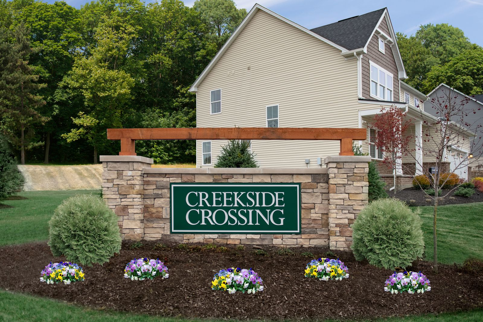 Welcome Home to Creekside Crossing:The only new single-family homes in North Strabane with community playground, pavilion, & walking path. Minutes to I-79, I-70 & Rt. 19.Click here to schedule your visit.