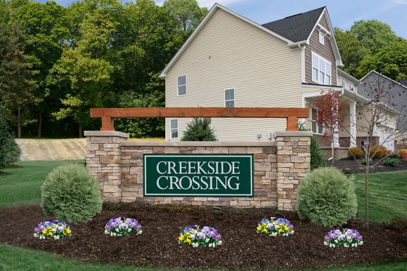 Welcome Home to Creekside Crossing:The only new single-family homes in North Strabane with community playground, pavilion, & walking path. Minutes to I-79, I-70 & Rt. 19, from low $300s.Click hereto schedule your appointment.