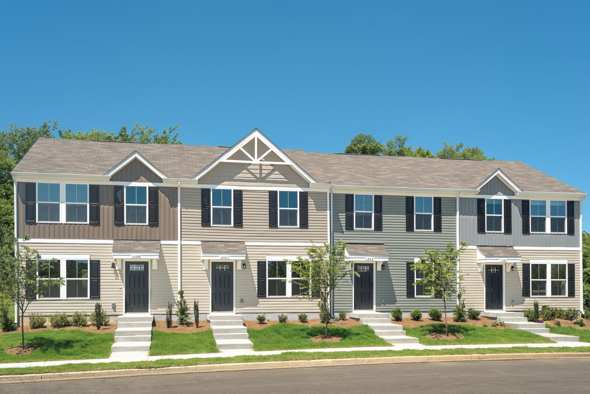 Why rent when you can own for the same or less than rent?:Get the lowest-priced new homes less than3 miles to Downtown Greenville with included lawn maintenance.Schedule a visittoday!