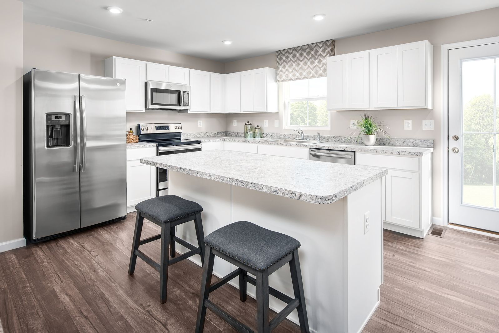 Camden Creek: New Homes in Danville:Small town charm in an ideal location, with amenities, Danville Schools & all appliances included, from the low $200s.Schedule your visit to learn more about owning at Camden Creek!