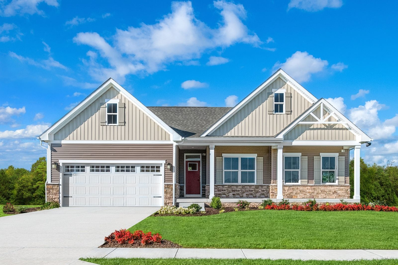Welcome home to Holston Hills - Ranch Homes at 146th & Gray:Build your dream home — a gorgeous ranch with Craftsman style exteriors and included full basements, in the highly sought-after location minutes from Carmel & Fishers!Schedule avisit today!