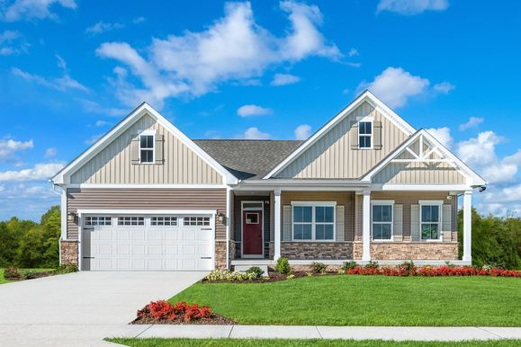 Welcome home to Holston Hills - Ranch Homes at 146th & Gray:Build your dream home — a gorgeous ranch with Craftsman style exteriors, in the highly sought-after location minutes from Carmel, Fishers and Indianapolis!Schedule a 1 on 1or virtual appointment!