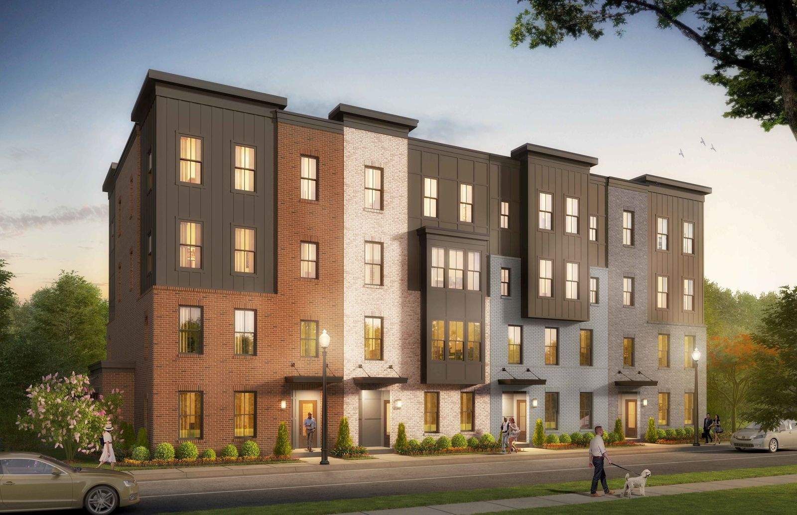 Paddock Pointe - Howard County's newest transit-oriented community:Welcome to Paddock Pointe! Own a new two-level townhome style condo from the upper $300s!