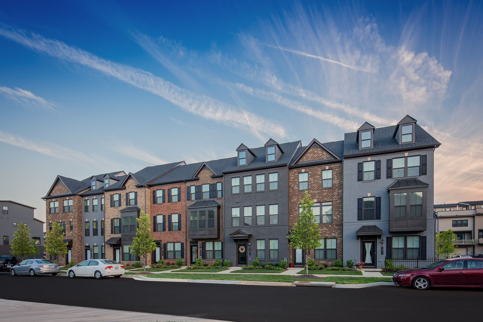 """See why Centerpointe Townes is Selling Fast, 22 new homeowners in under 3 months!:Exclusive modern brownstones in Midlothian with private terraces, 2 car-garages and conveniently located in Chesterfield """"New Downtown"""" offering walk-ability and convenience. Contact us today"""