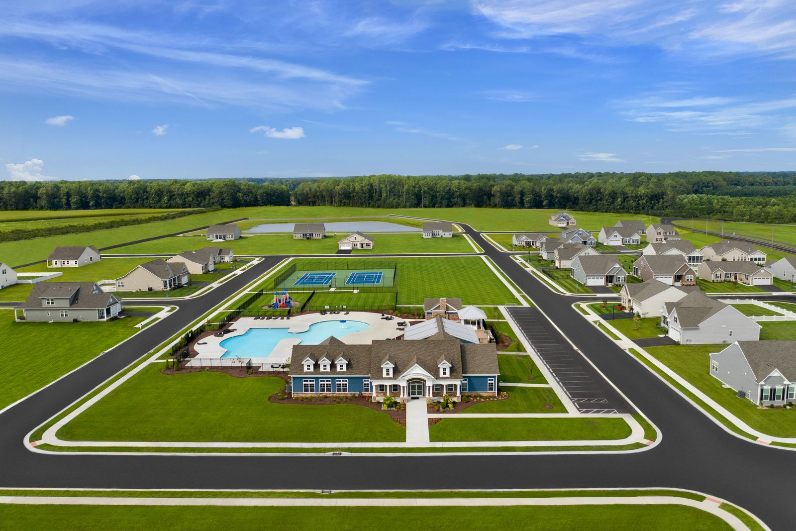 BEST VALUE RESORT-STYLE COMMUNITY IN SUSSEX COUNTY!:Lowest priced single-family homes located in an established community offering resort style amenities just 7 miles to Lewes.