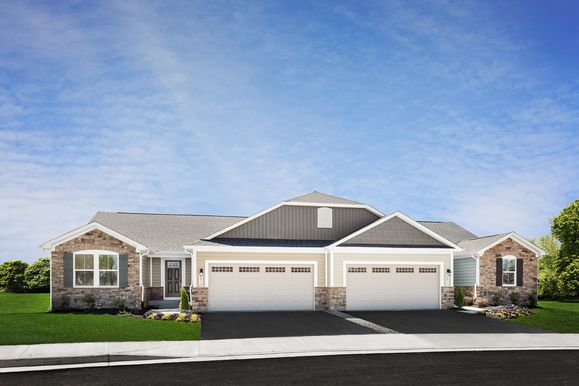 WELCOME TO KESWICK, ACTIVE ADULT VILLAS NOW OPEN!:The most affordable 55+ Active Adult community with a clubhouse/fitness center, pool, trails, multiple parks and more from the upper $200s!Schedule your one-on-one or virtual appointment today!