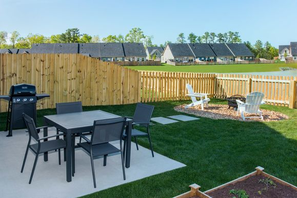 Love this backyard?:Schedule a visitto discuss how to make it yours and to enjoy grilling in your own private backyard, with the convenience of know it is maintenance free!