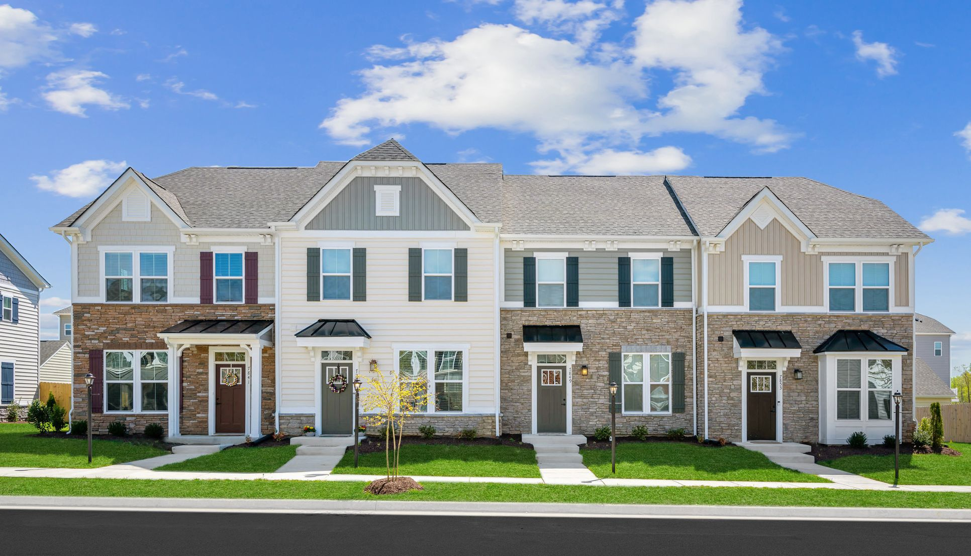 Grand Opening: Beautiful townhomes in Arbordale!:Settle into this highly sought after Williamsburg community. New, 2-story, 3-bedroom, maintenance-free townhomesnow open in Arbordale in York County!Join the VIP Listto schedule your visit.