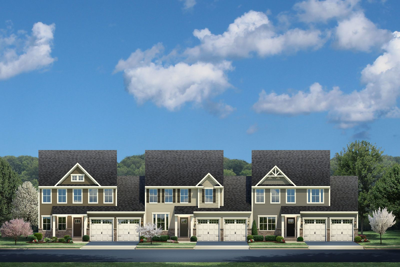 Main Level Living at Whitewood Village:The lowest-priced new townhomes in Newark with spacious bedrooms, flexible spaces and garages, convenient to UD, Chase and Christiana Mall. Click here to schedule your appointment!