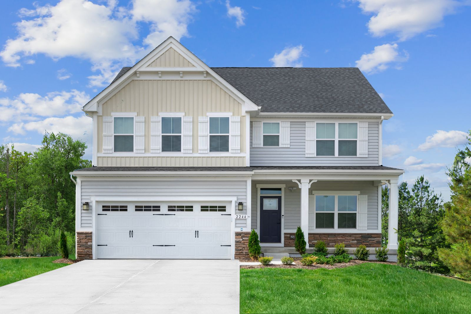 New Never Looked So Good:Own a brand new home with easy access to downtown Pittsburgh and the Heart of Cranberry.Schedule your appointment for Jackson Ridge today!