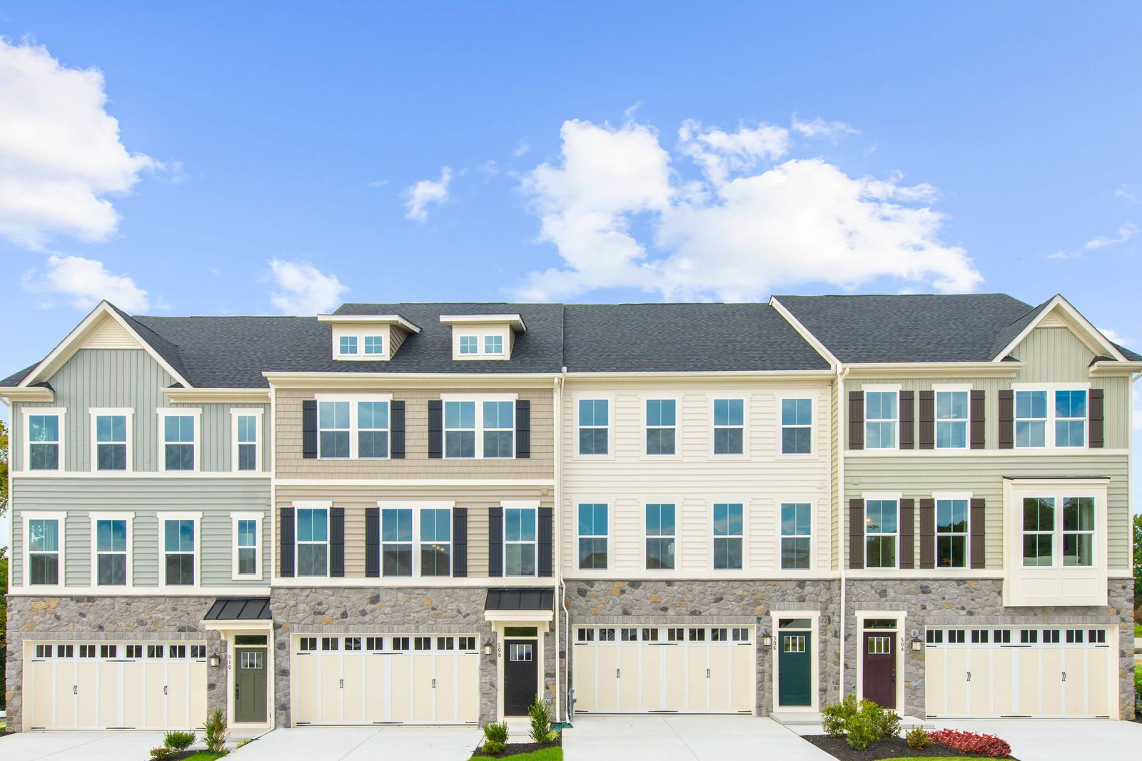 Welcome Home to The Reserve at Eagle Hill:The McPherson townhome featuring a 2-car garage, open floorplan with 3-4 bedrooms and 2.5-3.5 bathrooms, 2nd floor laundry, walk-in closet & gourmet kitchen. Click here to schedule an appointment.